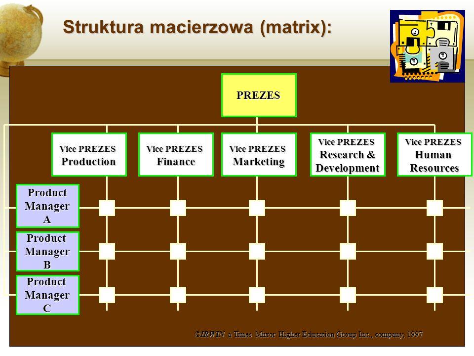 Struktura macierzowa (matrix):