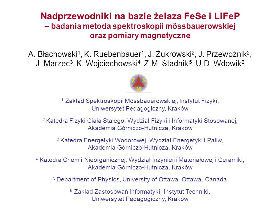 Nadprzewodniki na bazie żelaza FeSe i LiFeP