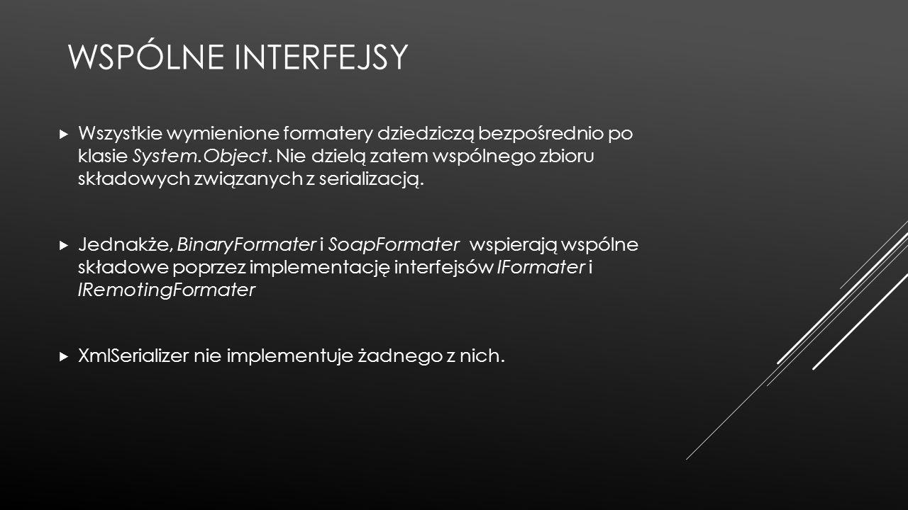 Wspólne interfejsy
