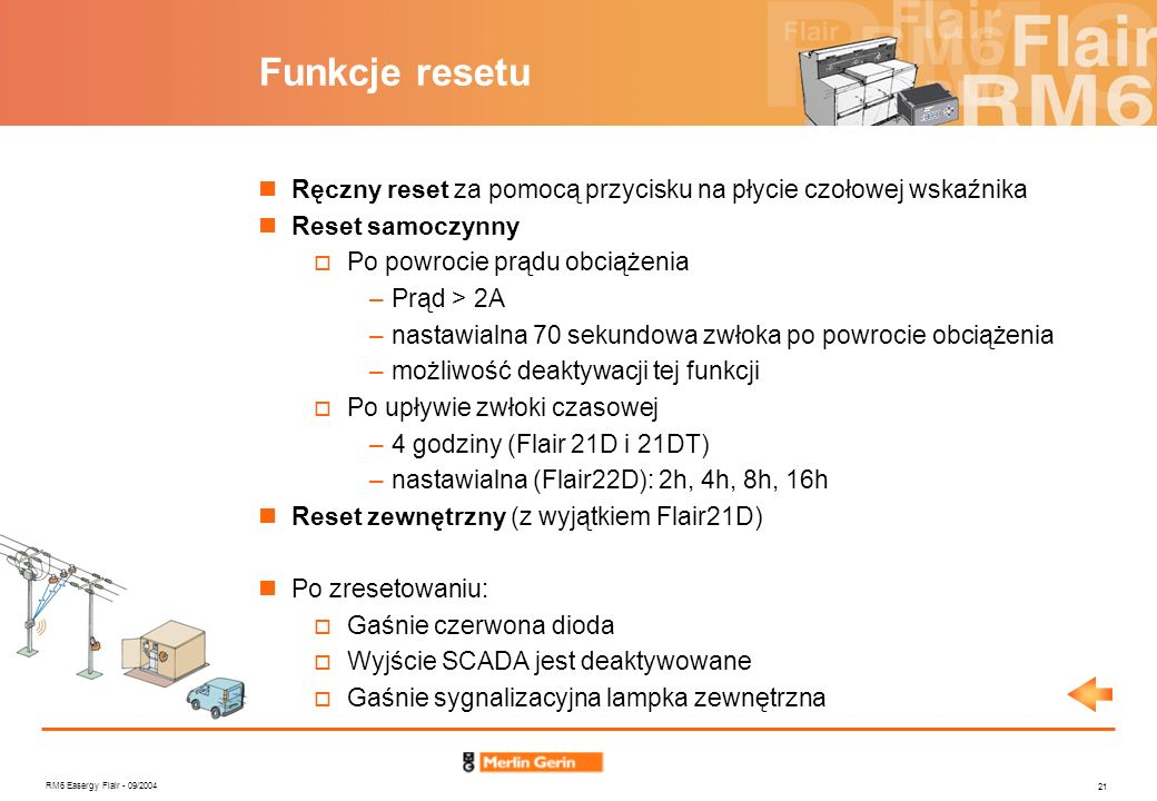 Funkcje resetu Ręczny reset za pomocą przycisku na płycie czołowej wskaźnika. Reset samoczynny. Po powrocie prądu obciążenia.