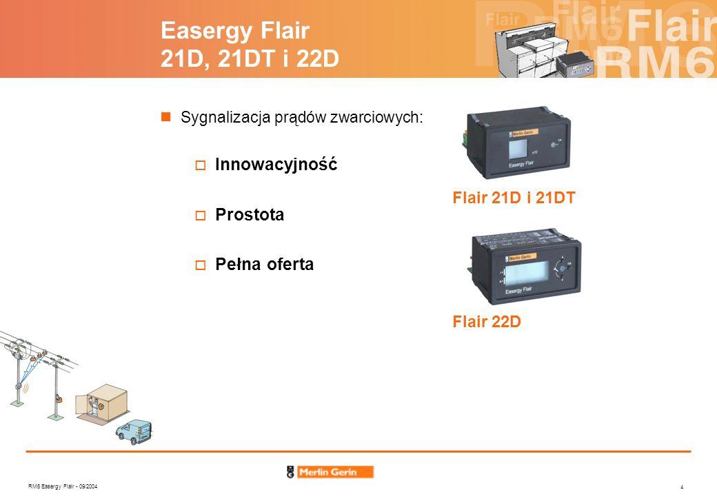 Easergy Flair 21D, 21DT i 22D Innowacyjność Prostota Pełna oferta