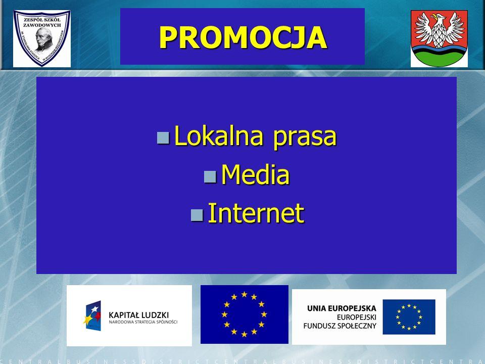 PROMOCJA Lokalna prasa Media Internet