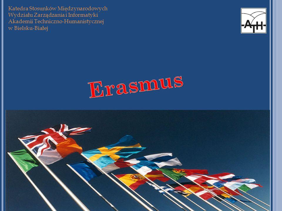 Erasmus Katedra Stosunków Międzynarodowych