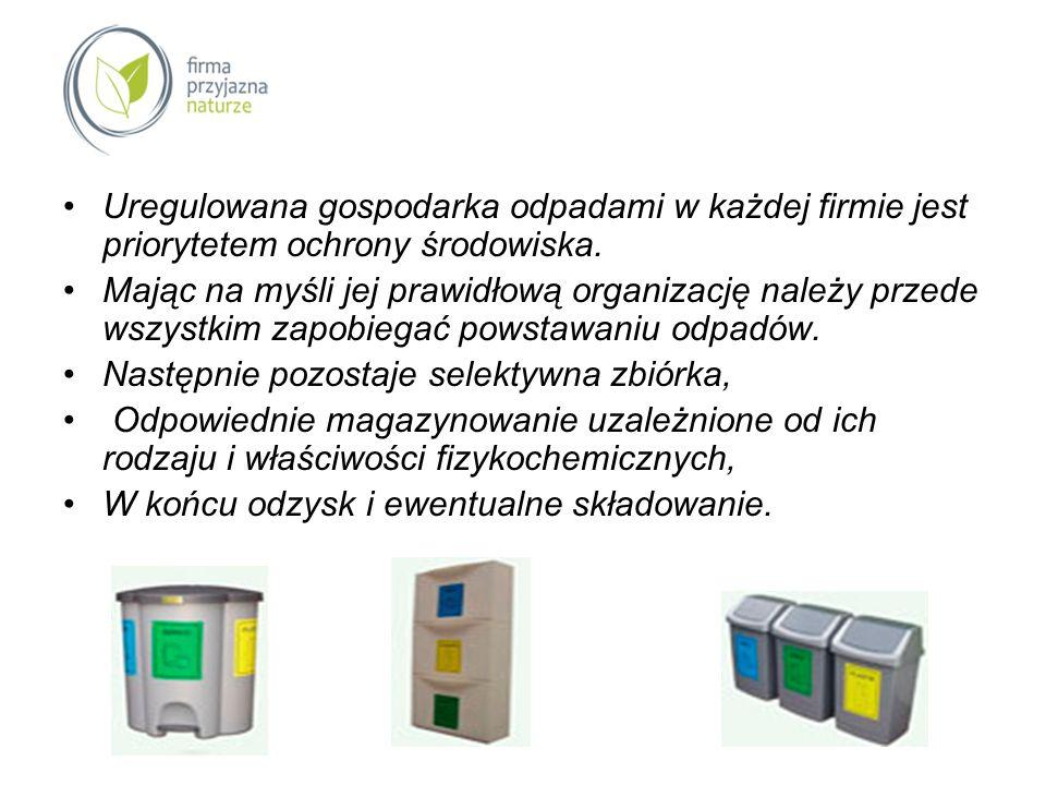 Uregulowana gospodarka odpadami w każdej firmie jest priorytetem ochrony środowiska.