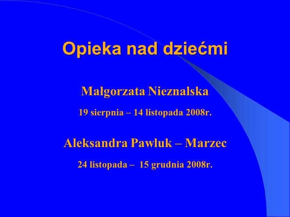Małgorzata Nieznalska Aleksandra Pawluk – Marzec