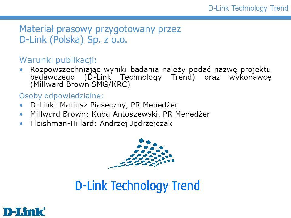 Materiał prasowy przygotowany przez D-Link (Polska) Sp. z o.o.