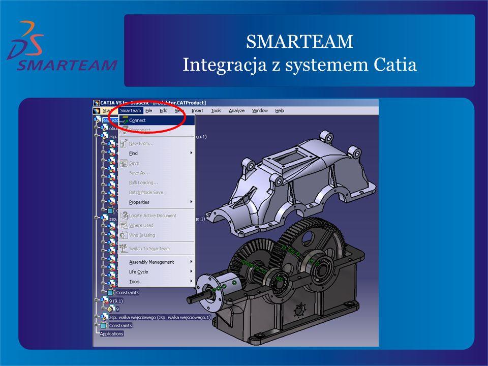 SMARTEAM Integracja z systemem Catia
