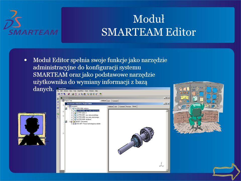 Moduł SMARTEAM Editor