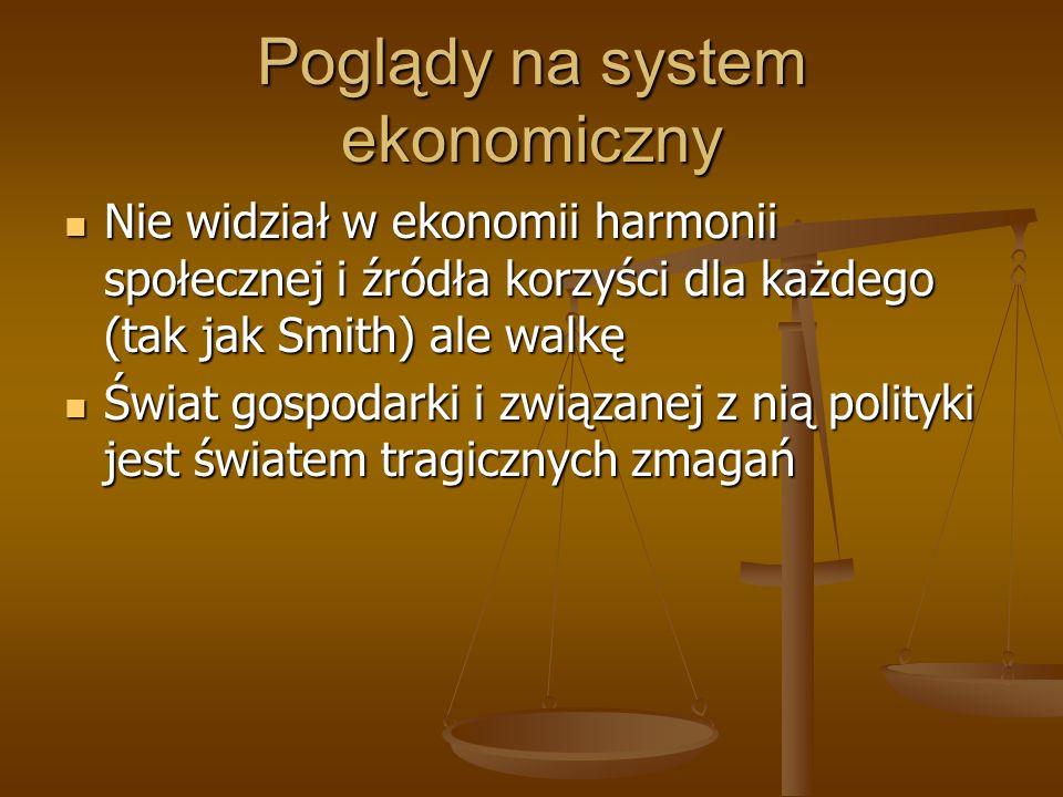 Poglądy na system ekonomiczny