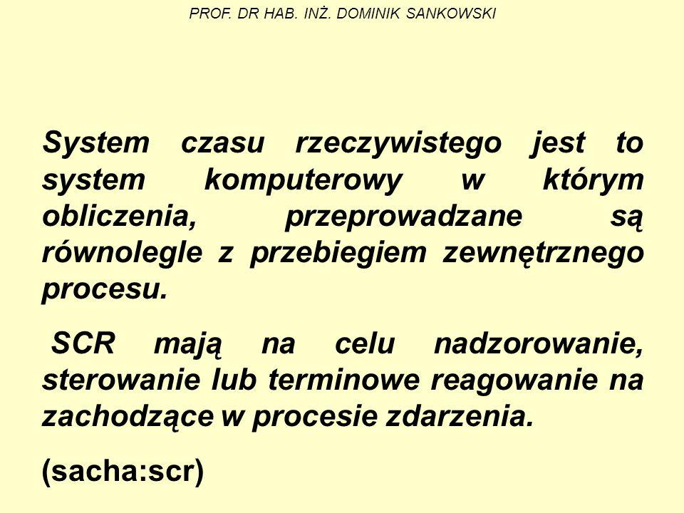PROF. DR HAB. INŻ. DOMINIK SANKOWSKI