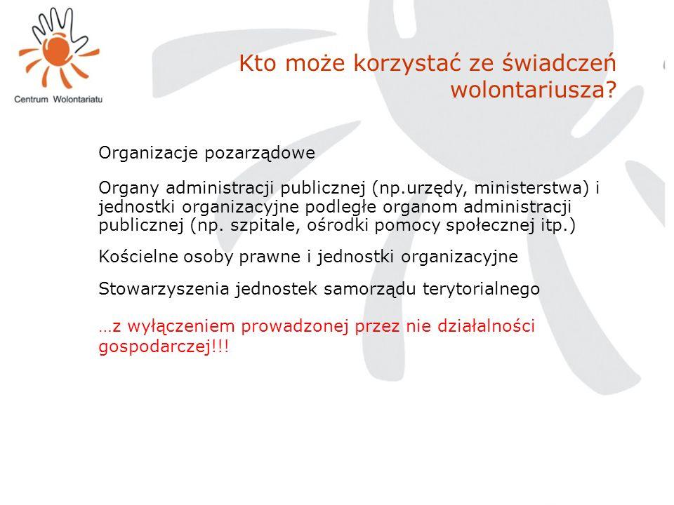 …z wyłączeniem prowadzonej przez nie działalności gospodarczej!!!
