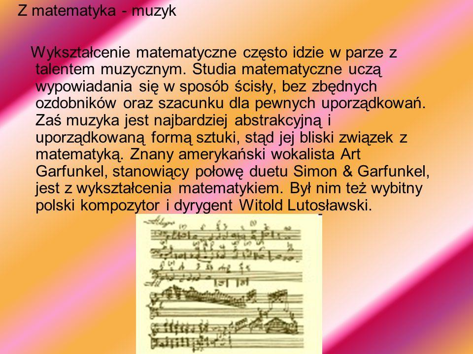 Z matematyka - muzyk