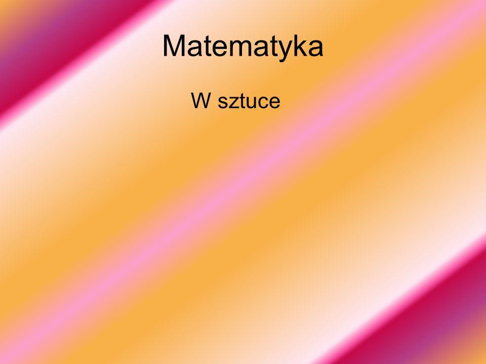 Matematyka W sztuce