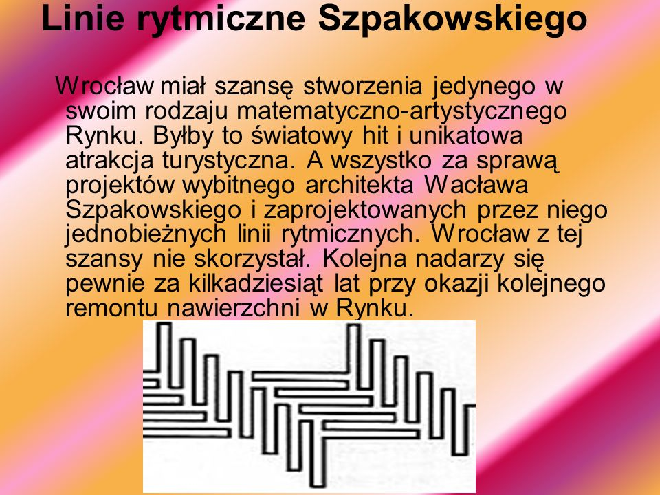 Linie rytmiczne Szpakowskiego
