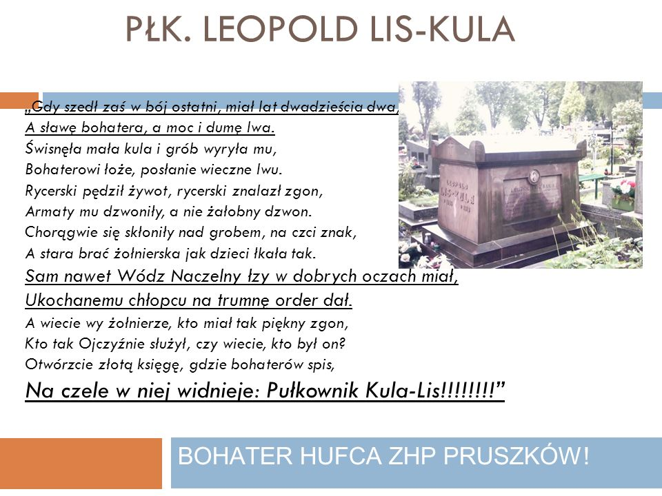 BOHATER HUFCA ZHP PRUSZKÓW!
