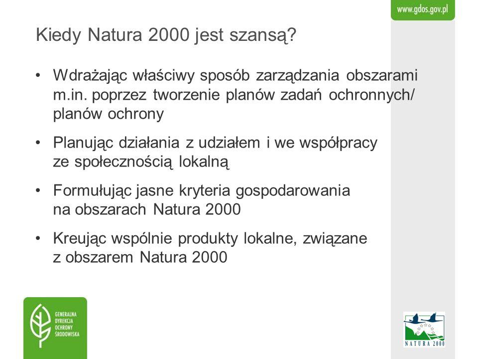Kiedy Natura 2000 jest szansą