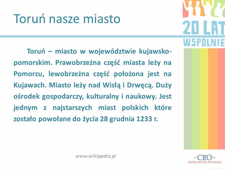 Toruń nasze miasto