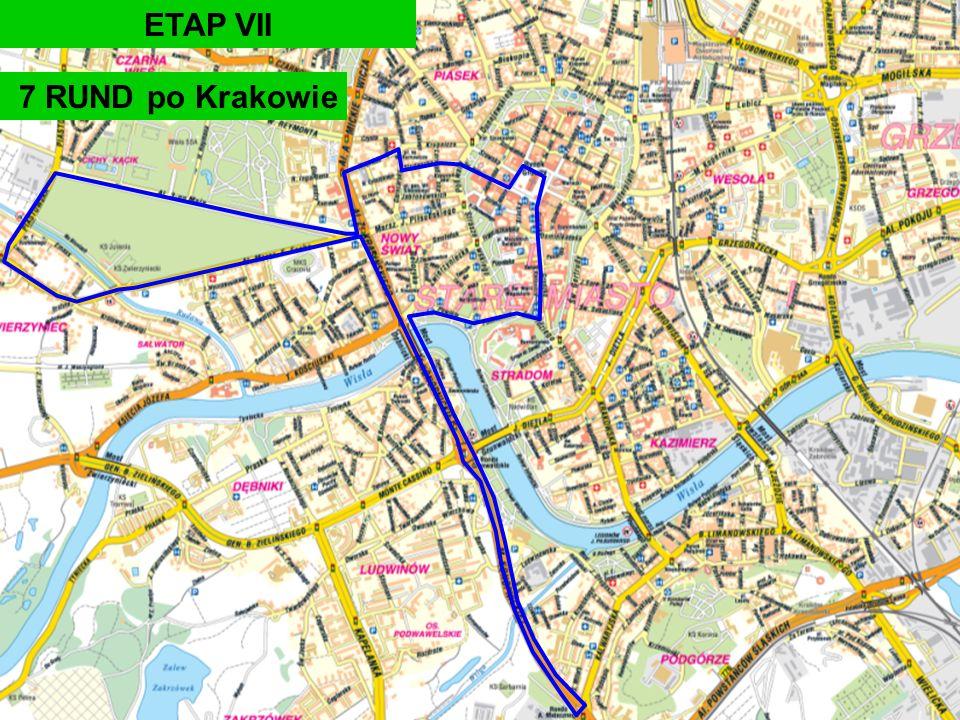 ETAP VII 7 RUND po Krakowie