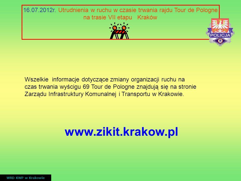 na trasie VII etapu Kraków