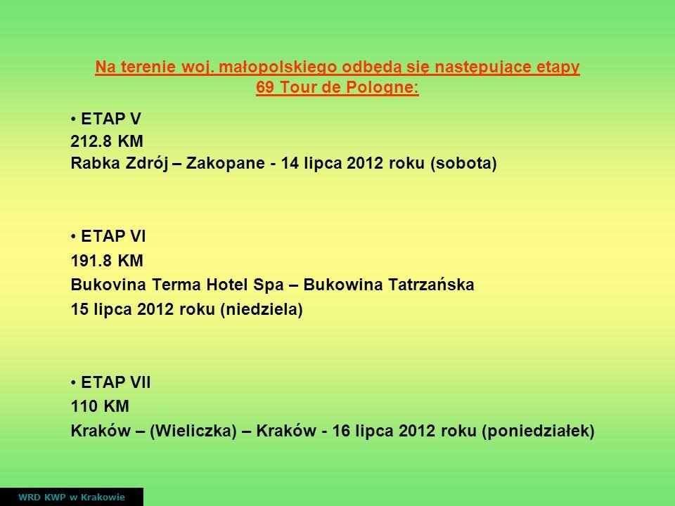 Rabka Zdrój – Zakopane - 14 lipca 2012 roku (sobota)