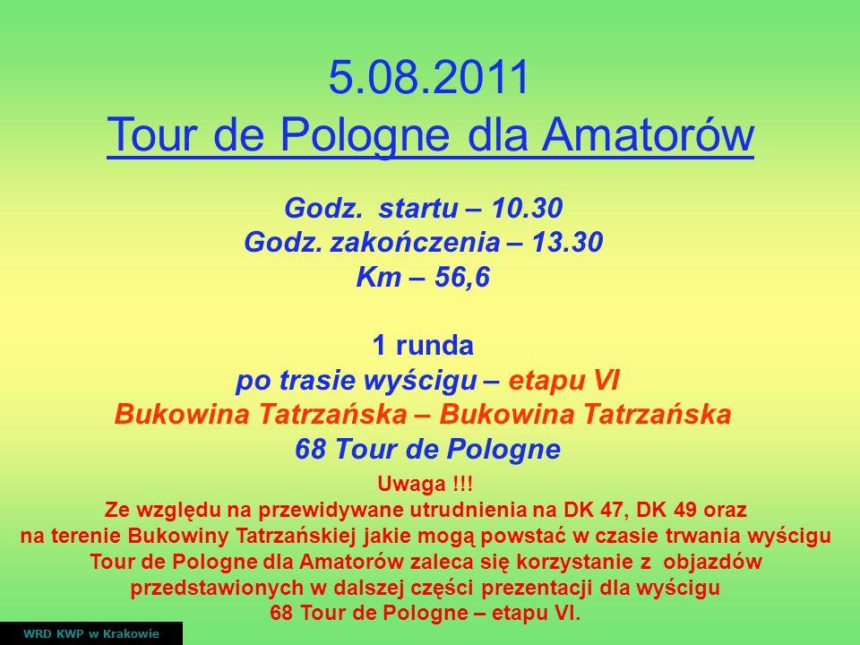 5.08.2011 Tour de Pologne dla Amatorów