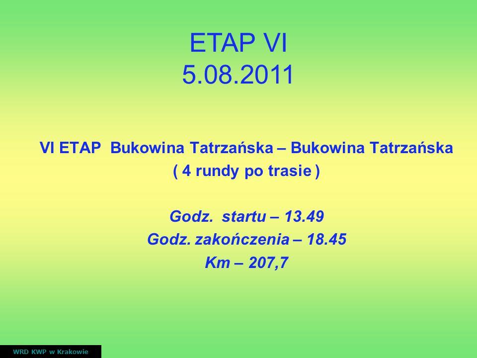 VI ETAP Bukowina Tatrzańska – Bukowina Tatrzańska