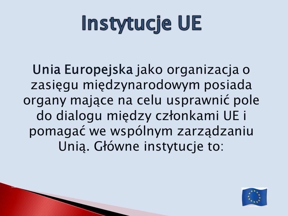 Instytucje UE