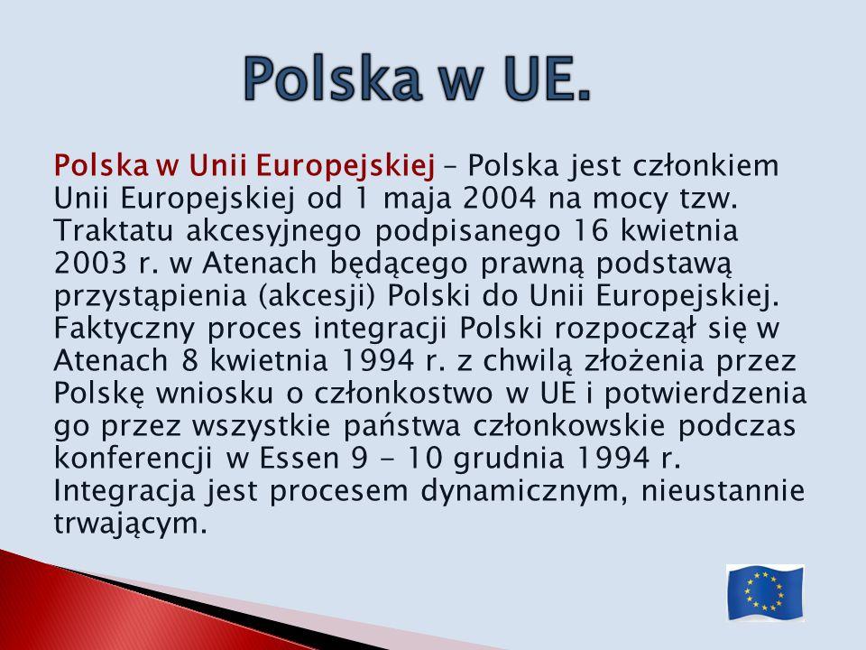 Polska w UE.