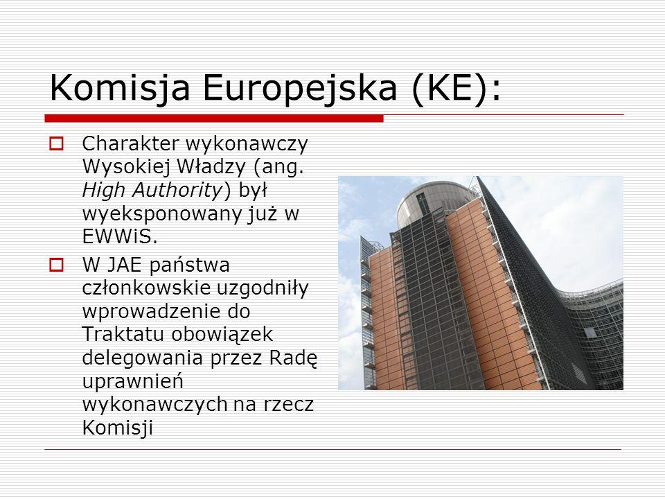 Komisja Europejska (KE):