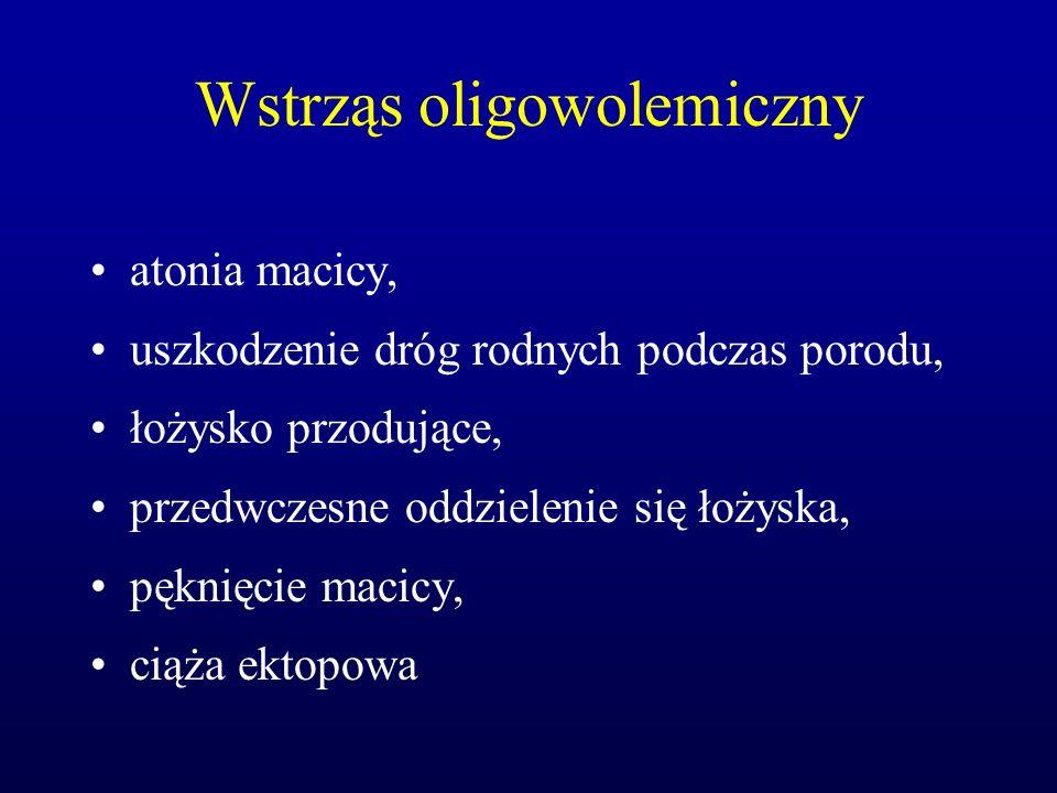 Wstrząs oligowolemiczny