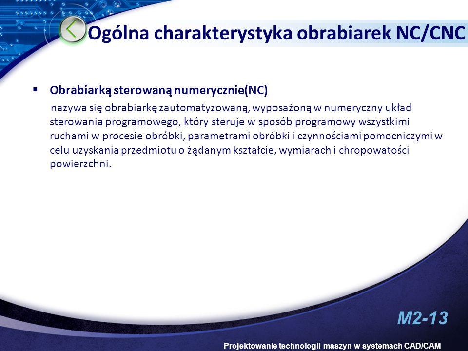 Ogólna charakterystyka obrabiarek NC/CNC