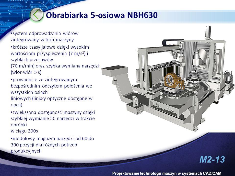 Obrabiarka 5-osiowa NBH630
