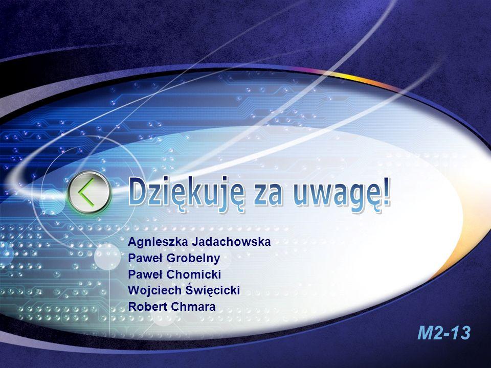 Dziękuję za uwagę! Edit your company slogan Agnieszka Jadachowska