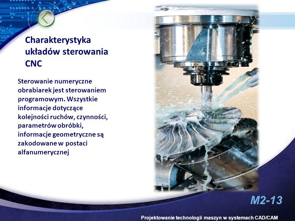 Charakterystyka układów sterowania CNC