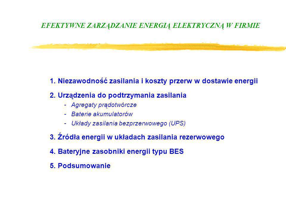 EFEKTYWNE ZARZĄDZANIE ENERGIĄ ELEKTRYCZNĄ W FIRMIE