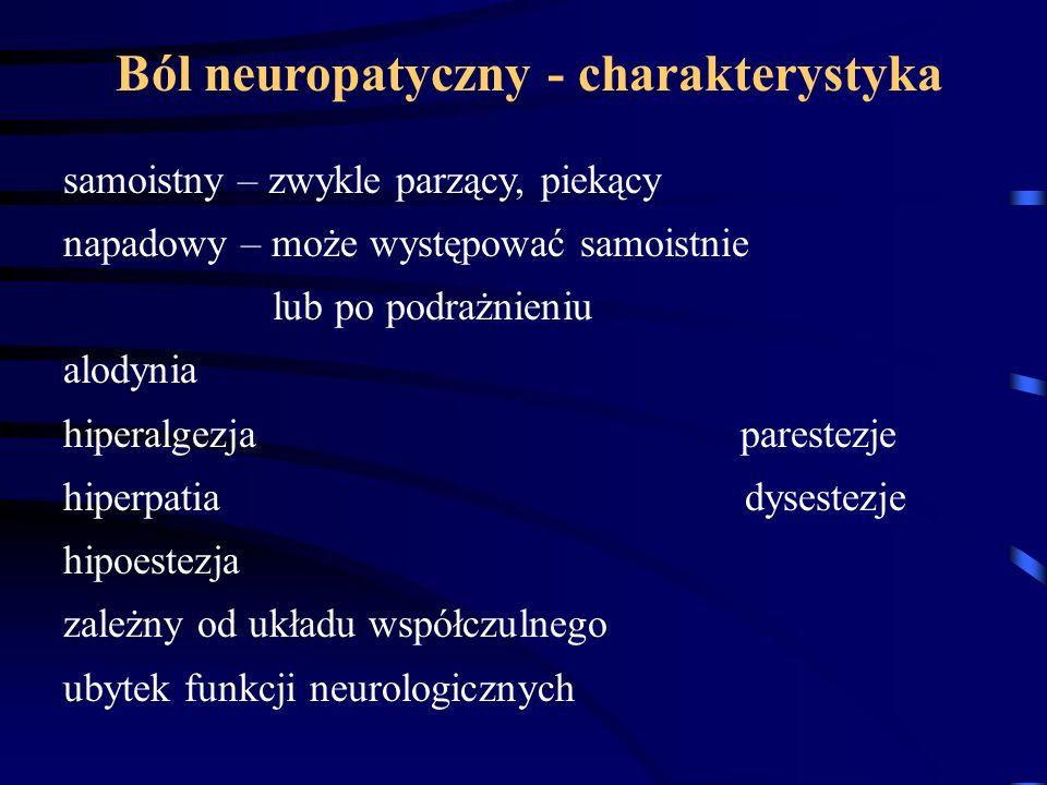 Ból neuropatyczny - charakterystyka