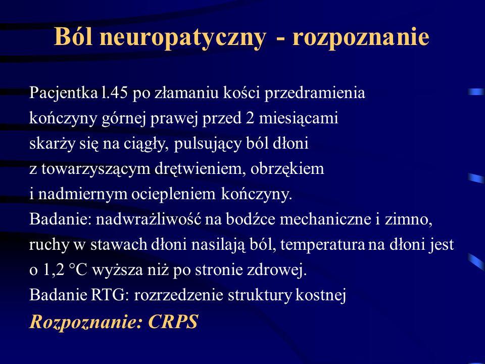 Ból neuropatyczny - rozpoznanie