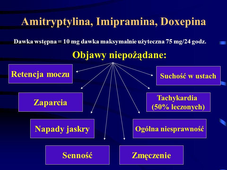 Amitryptylina, Imipramina, Doxepina
