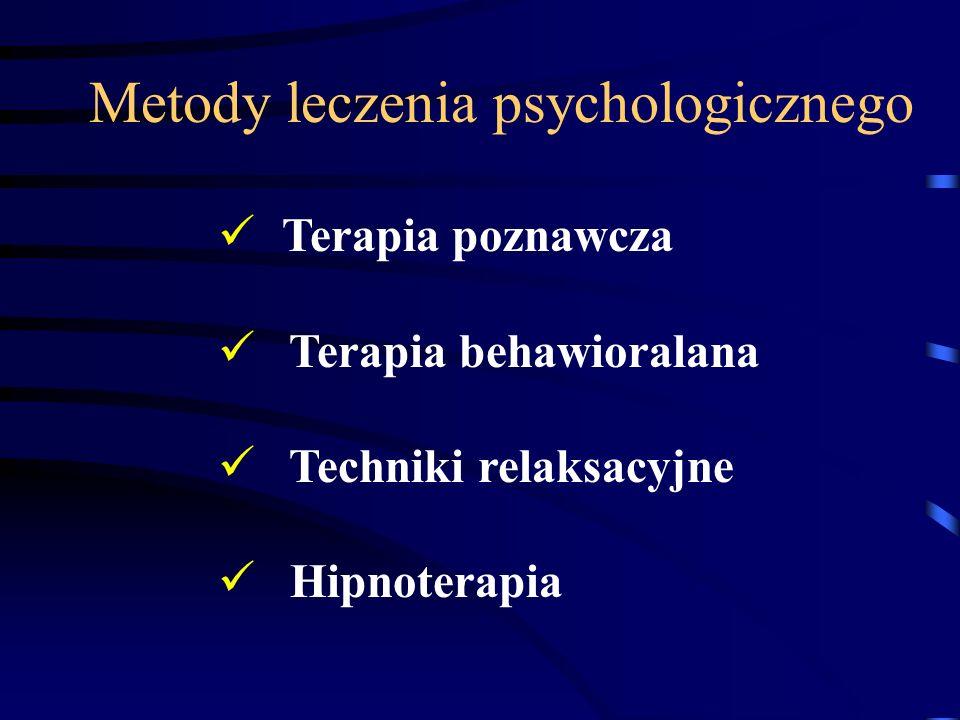 Metody leczenia psychologicznego