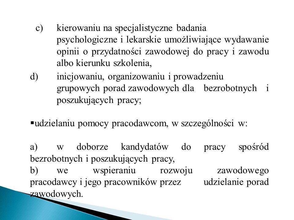 c). kierowaniu na specjalistyczne badania