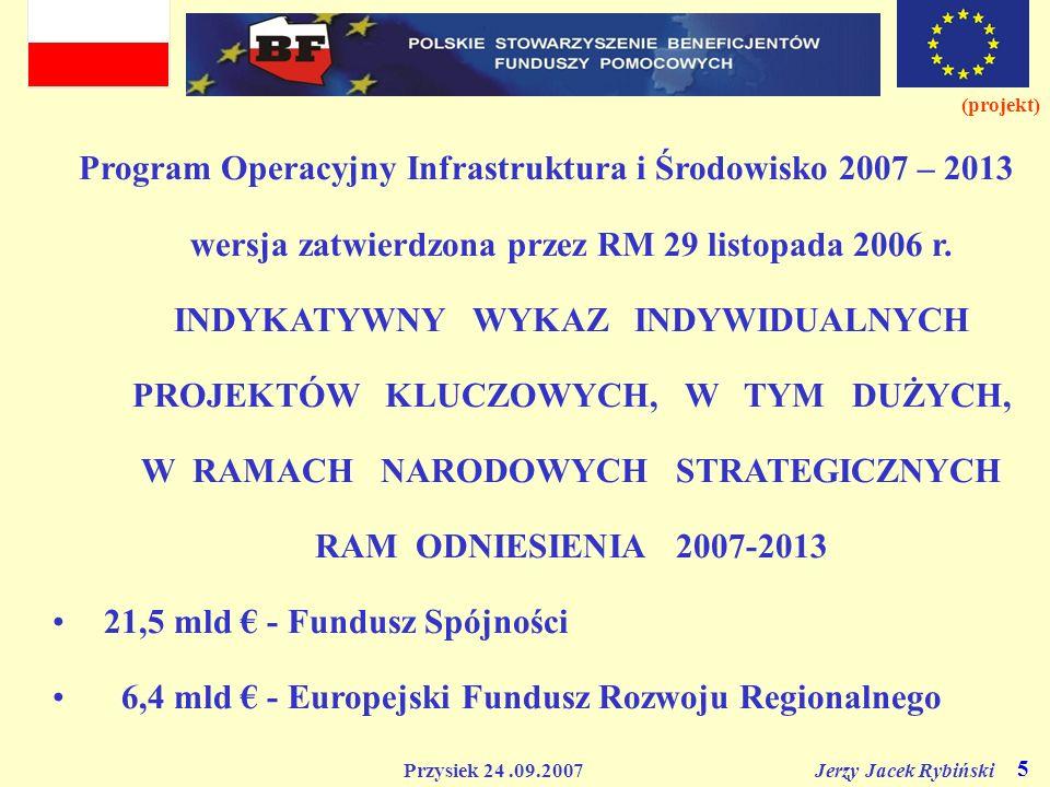 21,5 mld € - Fundusz Spójności