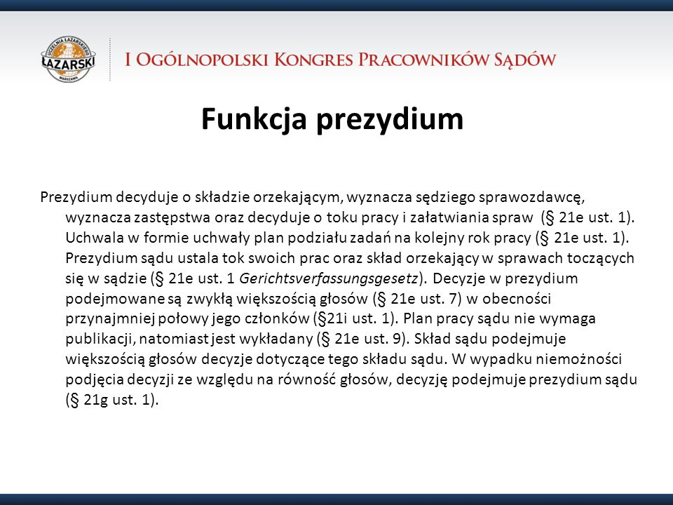 31.10.12Funkcja prezydium.