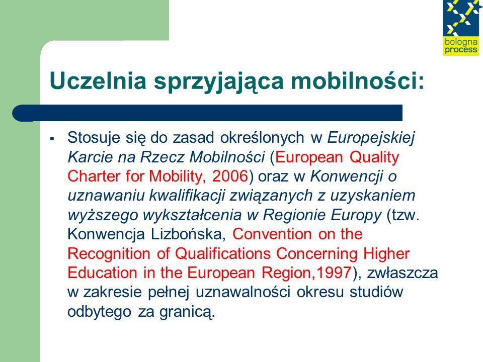 Uczelnia sprzyjająca mobilności: