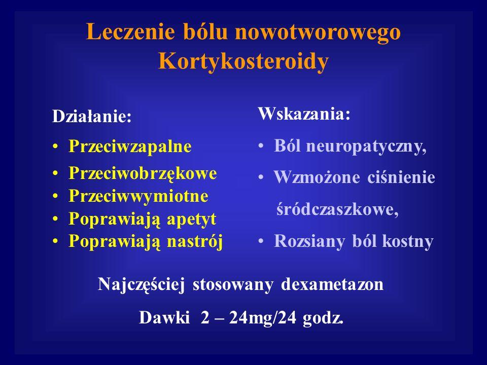Leczenie bólu nowotworowego Kortykosteroidy