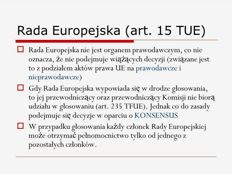 Rada Europejska (art. 15 TUE)