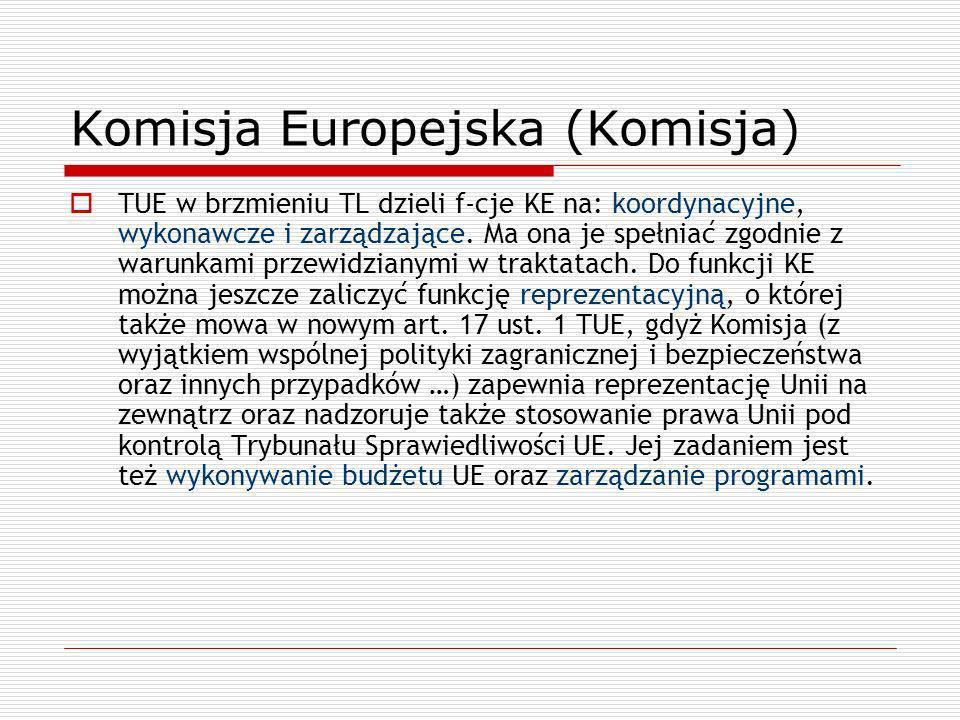 Komisja Europejska (Komisja)