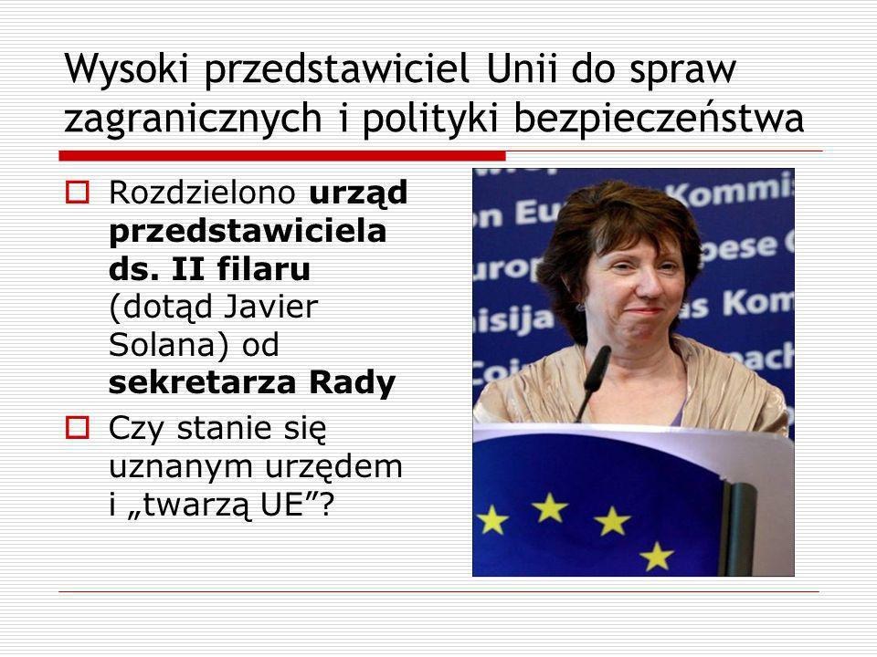 Wysoki przedstawiciel Unii do spraw zagranicznych i polityki bezpieczeństwa