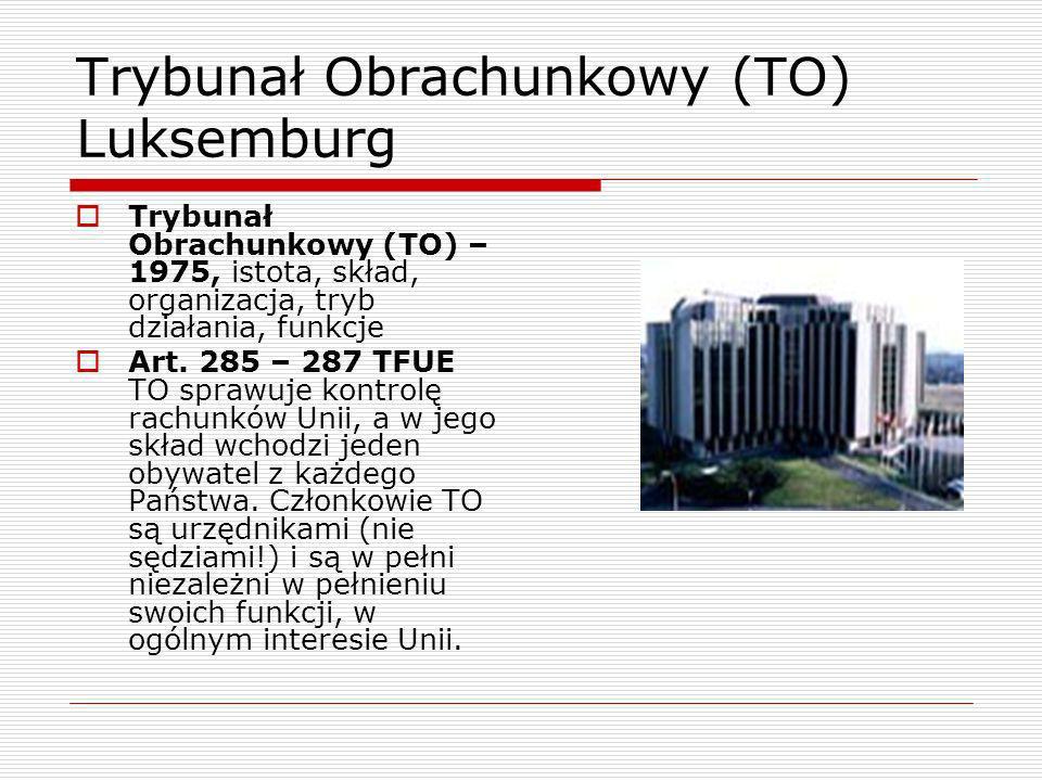 Trybunał Obrachunkowy (TO) Luksemburg
