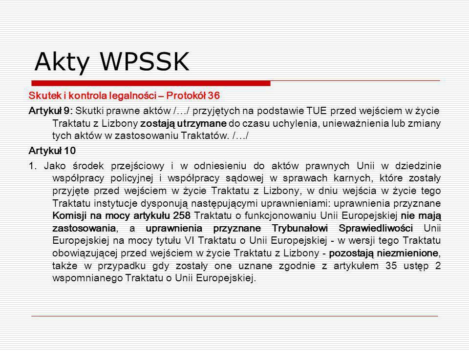 Akty WPSSK