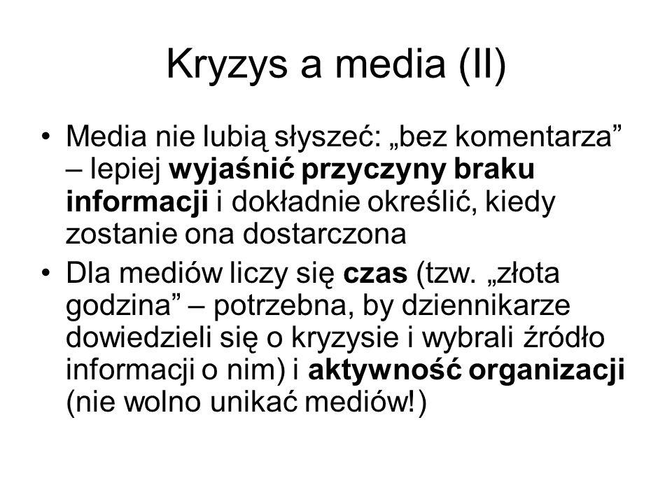 Kryzys a media (II)